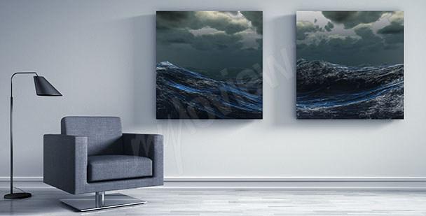 Image vagues sur la mer