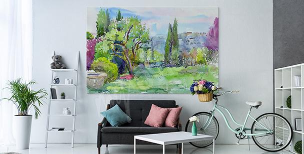 Image végétation et jardin italien