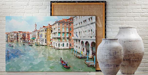 Image Venise panorama de ville