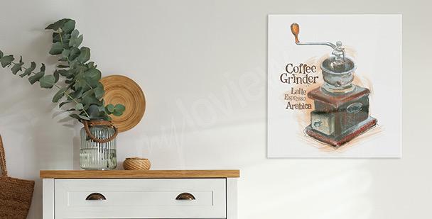 Image vieux moulin à café