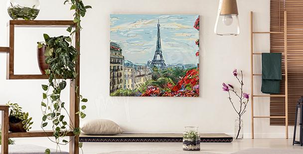 Image Vue sur la Tour Eiffel