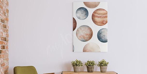 Images plančtes ŕ l'aquarelle