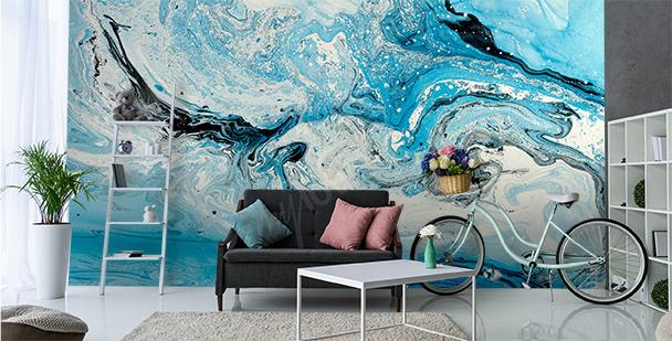 Papier peint abstrait mer