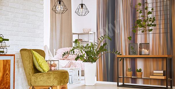 Papier peint abstrait pour le salon