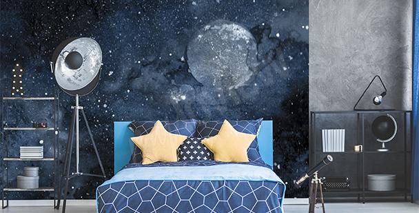Papier peint ado cosmos