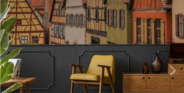 Papier peint architecture bavaroise