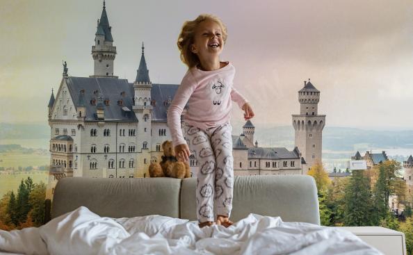 Papier peint architecture - château en Allemagne