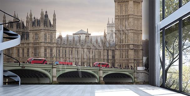 Papier peint architecture de Londres
