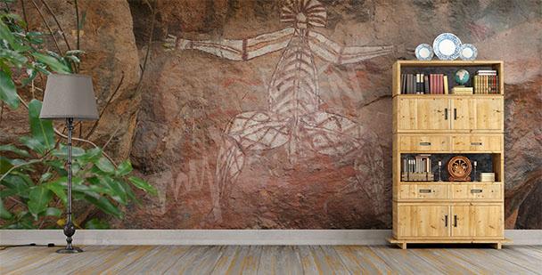 Papier peint art des Aborigènes