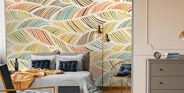 Papier peint avec un motif abstrait