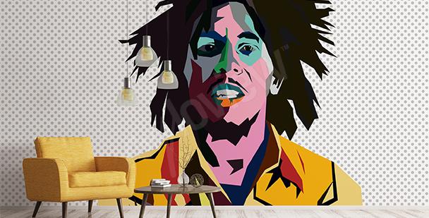 Papier peint Bob Marley