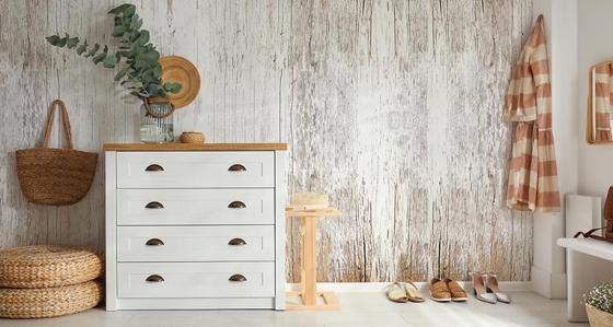 Bois mural - une solution chaleureuse dont vous pouvez profiter en un clin d'œil