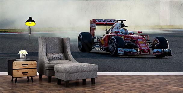 Papier peint bolide Formule 1