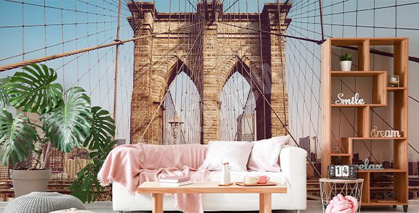 Papiers Peints New York Mur Aux Dimensions Myloview Fr