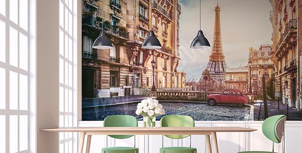 Papier peint panorama de Paris