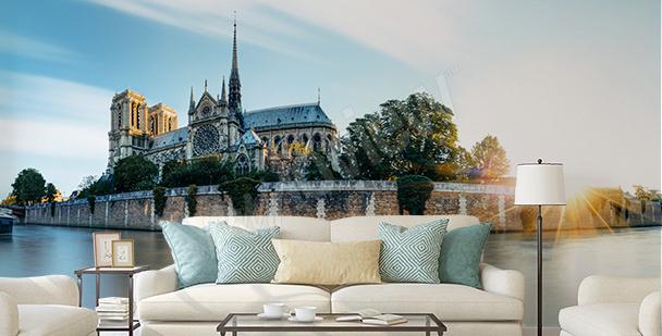 Papier peint Cathédrale Notre Dame