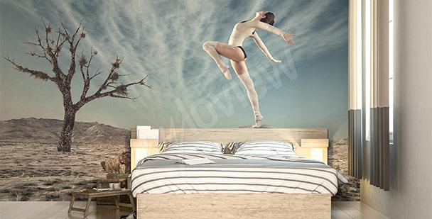 Papier peint chambre à coucher – danseur
