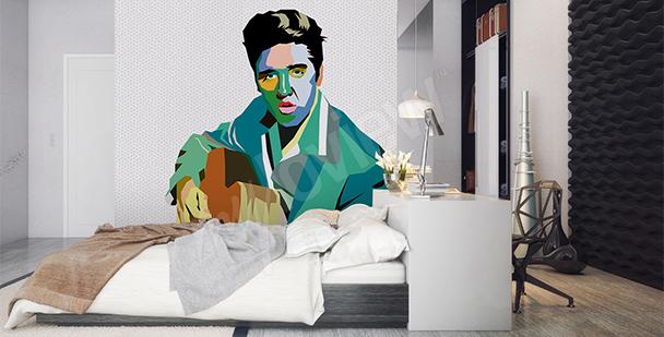 Papier peint Elvis Presley