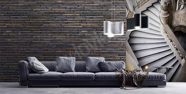 Papiers peints Escaliers •mur aux dimensions | myloview.fr