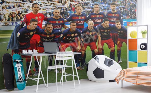 Papier peint FC Barcelona