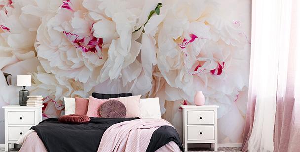 Papier peint fleurs pour chambre
