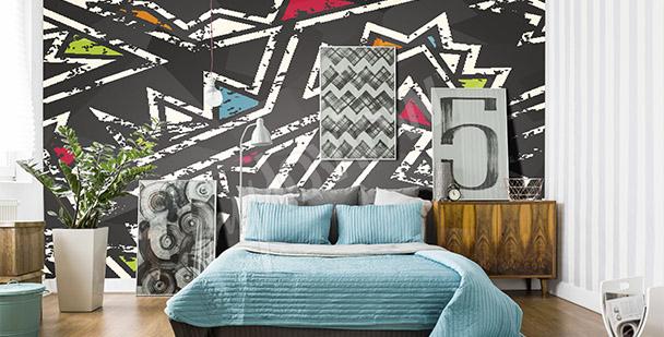 Papier peint graffiti pour une chambre