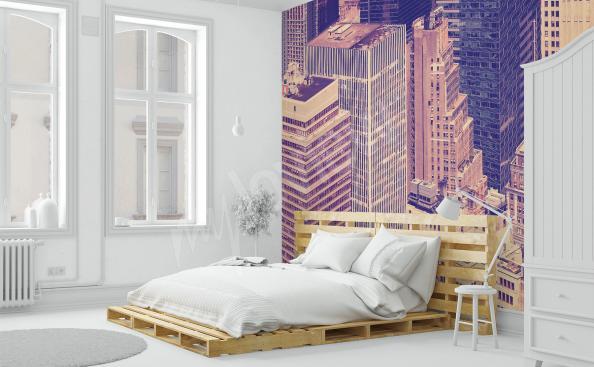 papier peint gratte-ciel à New York