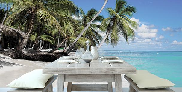 Papier peint île paradisiaque