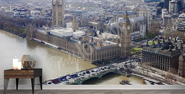 Papier peint Londres vue aérienne