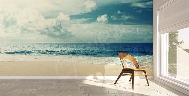 Papier peint mer plage