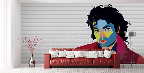 Papier peint Michael Jackson