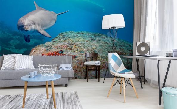 Papier peint monde sous-marin