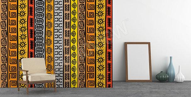 Papier peint motif africain