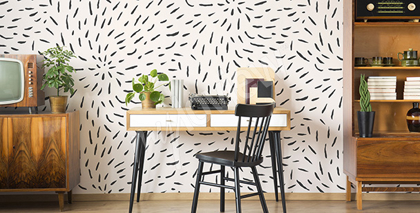 Papier peint bureau moderne