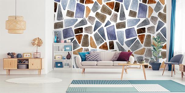 Papier peint mur en pierre