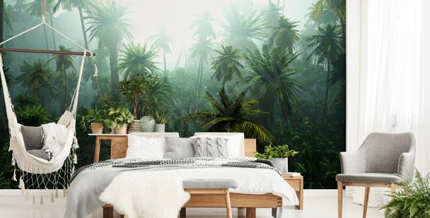 Papier peint nature jungle