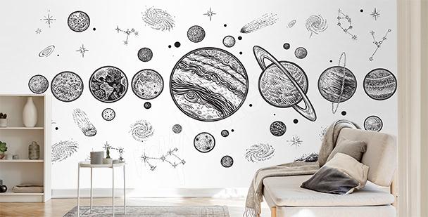 Papier peint planète Mars