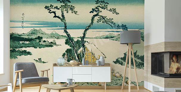 Papier peint oriental Asie