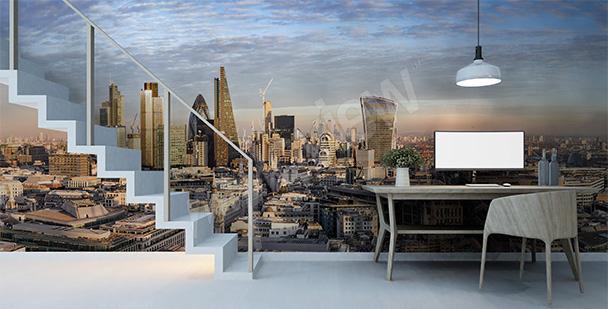 Papier peint panorama de Londres