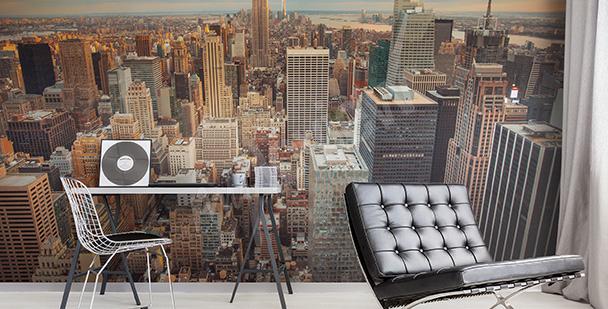 Papier peint panorama de métropole