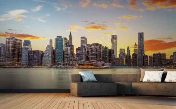 papier peint panorama New York