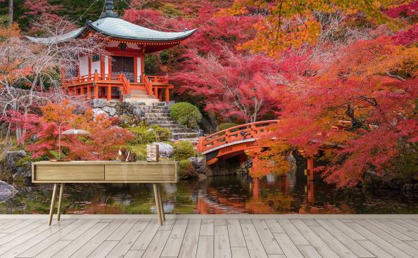Papier peint parc au japon