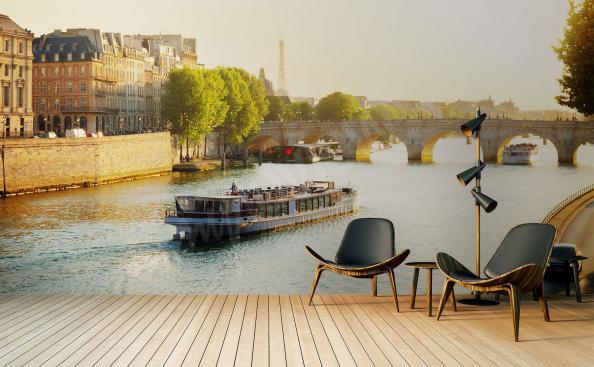 Papier peint Paris 3d