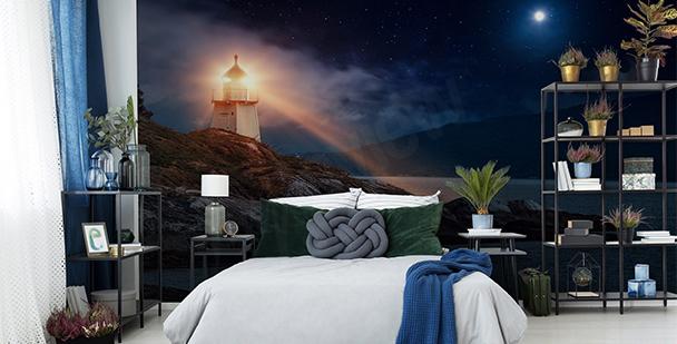 Papier peint phare Langeoog