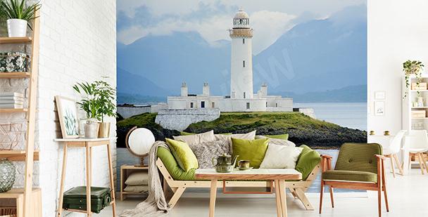 Papier peint phare maritime en Ecosse