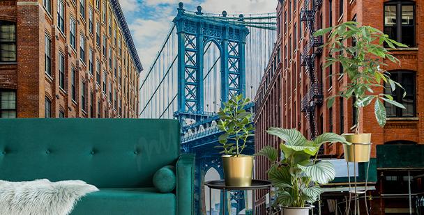 Papier peint pont de Manhattan