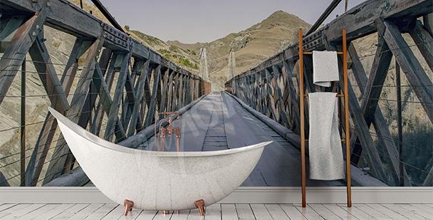 Papier peint pour la salle de bains 3D
