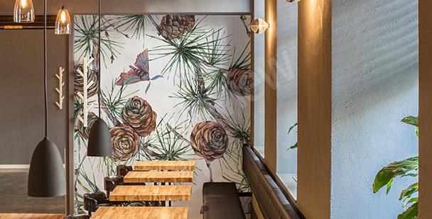 Papier peint pour le restaurant forêt