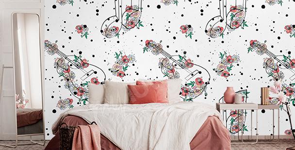 Papier peint pour une chambre à coucher