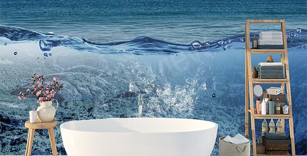 Papier peint profondeur: océan